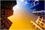 Gehry-Bauten zweifarbig ...
