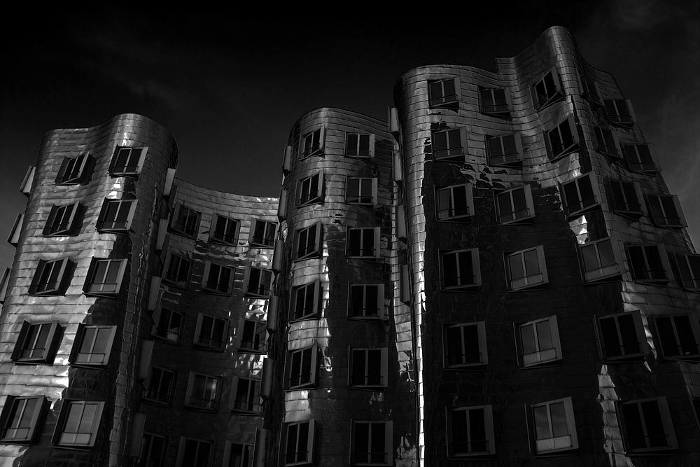 Gehry Häuser Düsseldorf Medienhafen #2