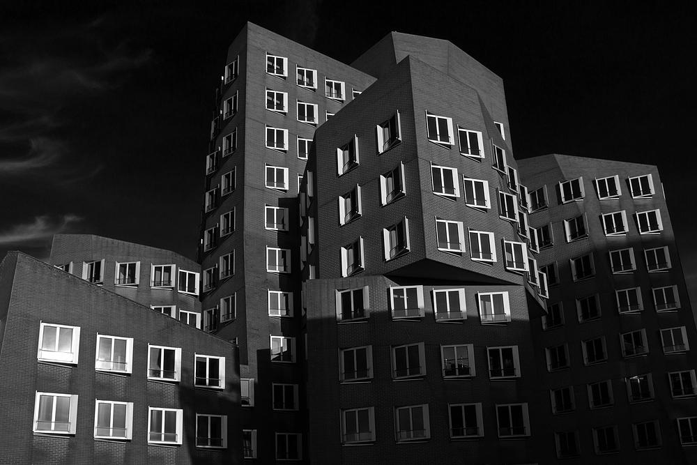 Gehry Häuser Düsseldorf Medienhafen #3