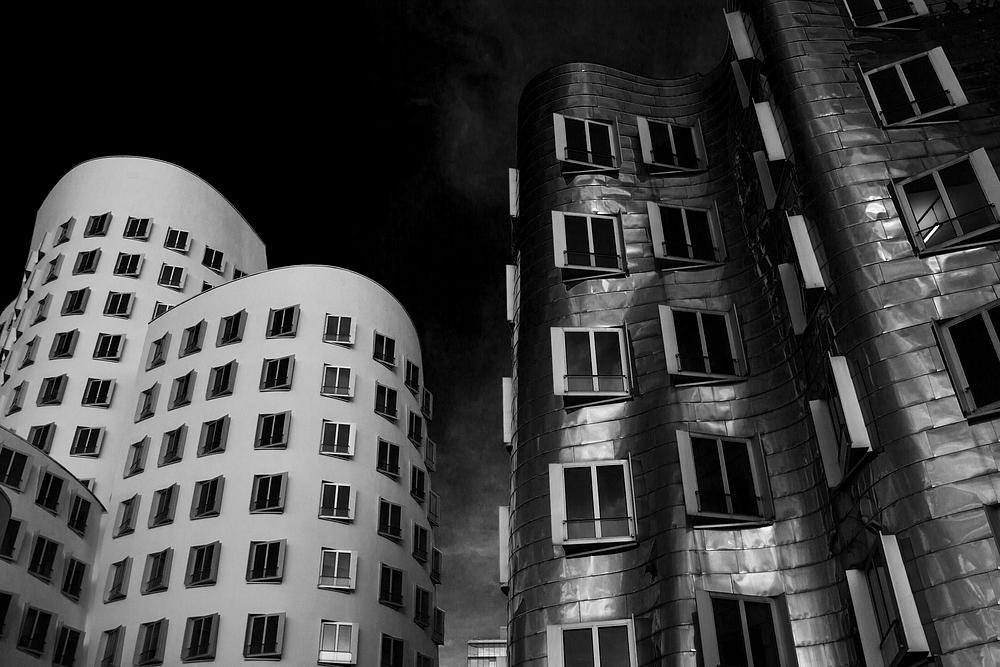 Gehry Häuser Düsseldorf Medienhafen