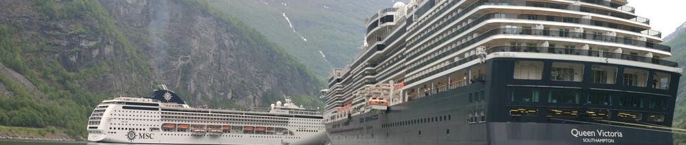 Geiranger Schiffe