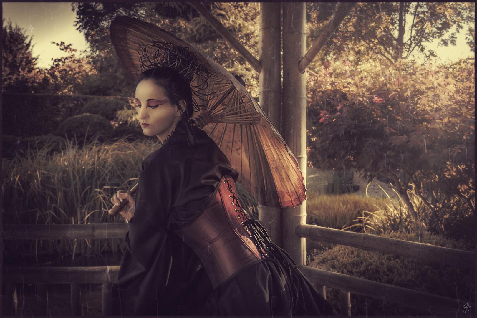 Geisha 2 .. gothic style