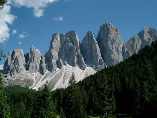 Geislerspitzen- Dolomiten