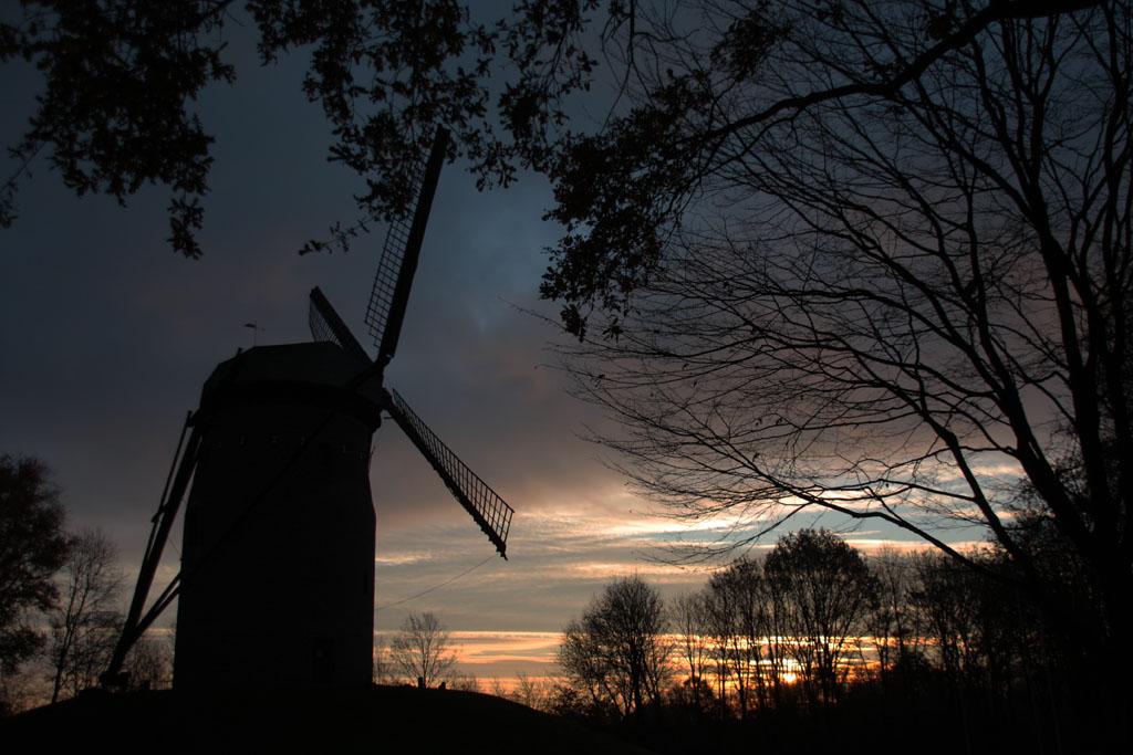 Geismühle am Morgen