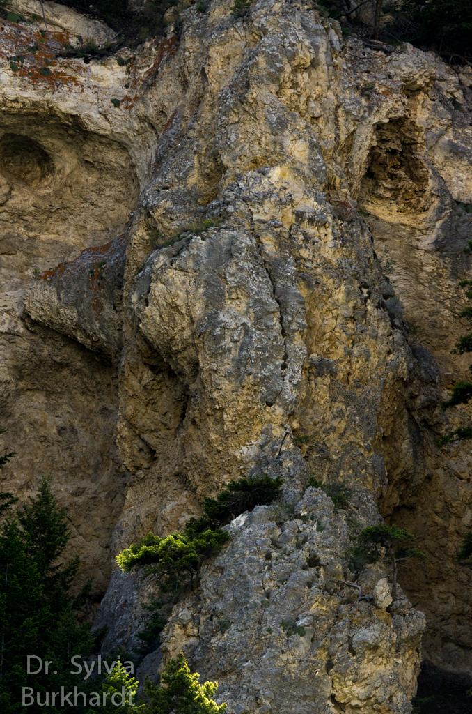 Geist des Gate of the mountain