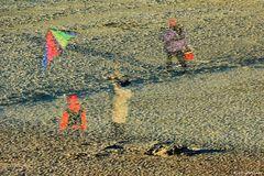Geister am Strand