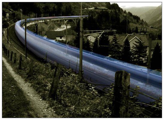 Geister-Güterzug