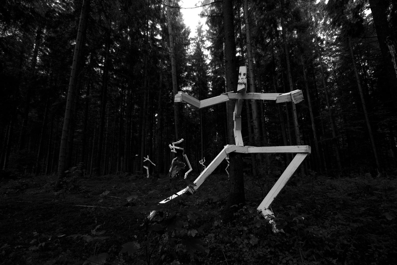 Geister im Wald