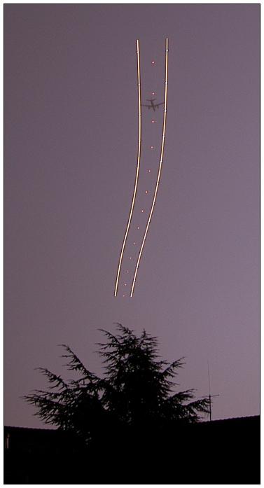 Geisterbilder am Himmel? :)