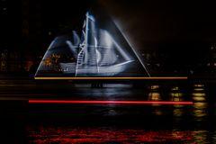 Geisterschiff auf der Spree