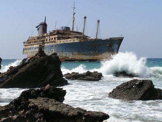 Geisterschiffe bei Punta de Guadalupe