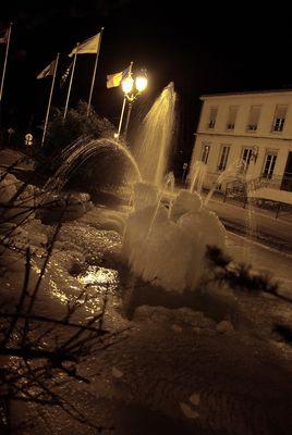 Gel, quand tu tiens nos fontaines !