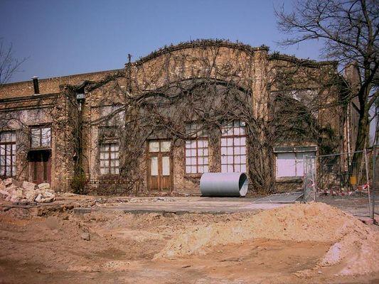 Gelände der Filmfabrik 06766 Wolfen, ehemalige Werksbibliothek