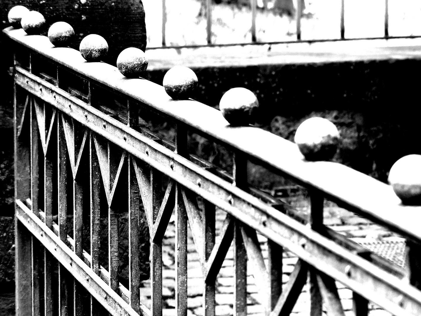 Geländer in Idstein