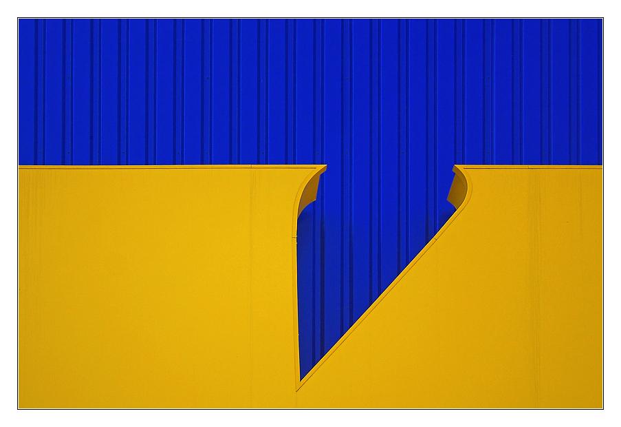 gelb | blau - 2