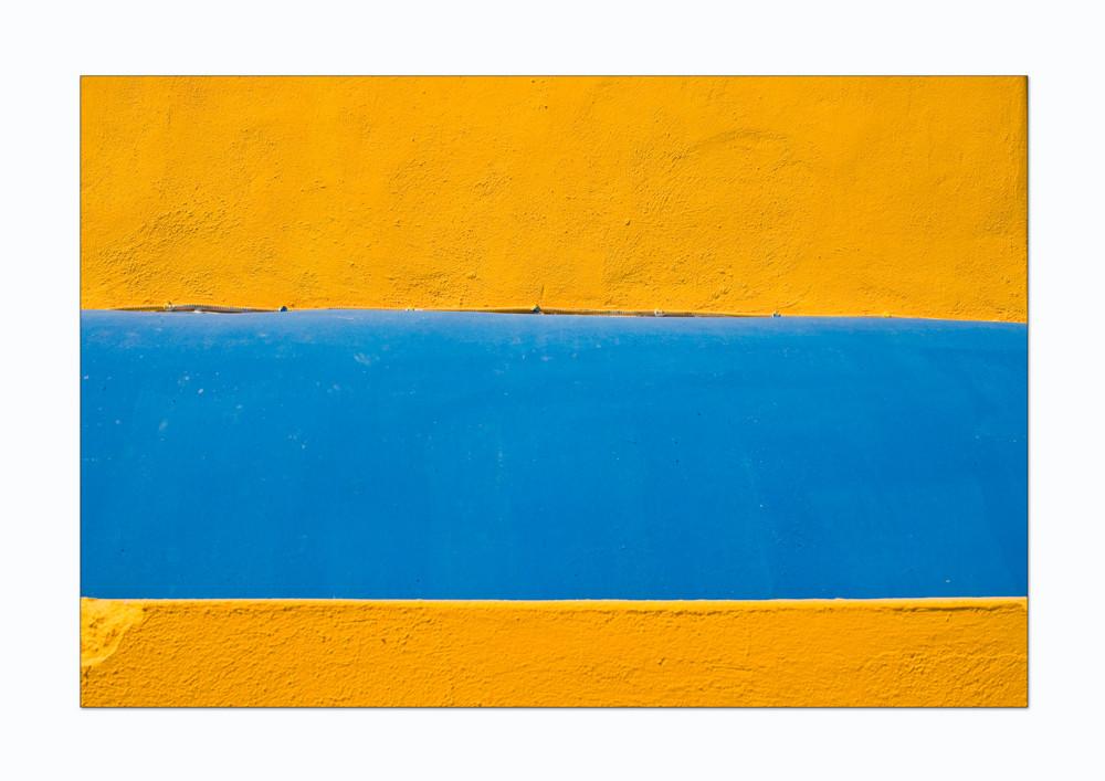gelb - blau - gelb