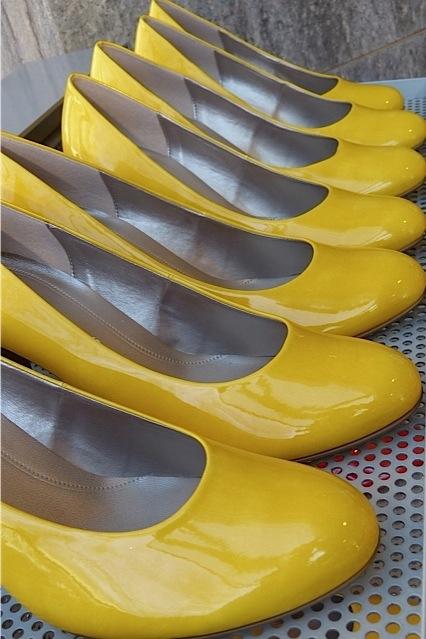 Gelb, gelb, gelb ist alles, was ich liebe...