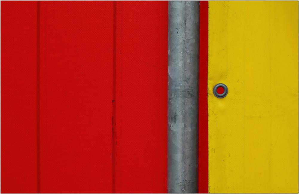 gelb - rot