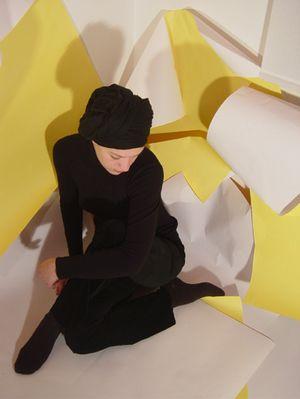 gelbe origami