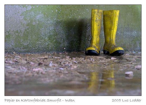 Gelbe Stiefeln