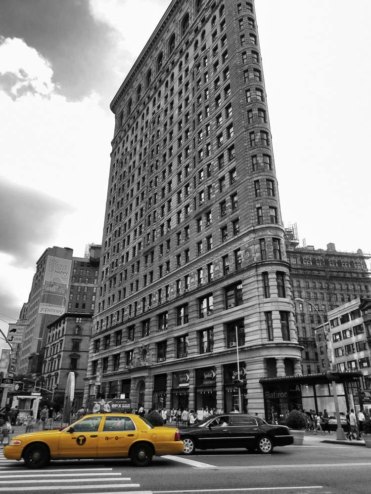 Gelbe Taxis New York 2 - Flatiron