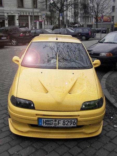 Gelber Flitzer
