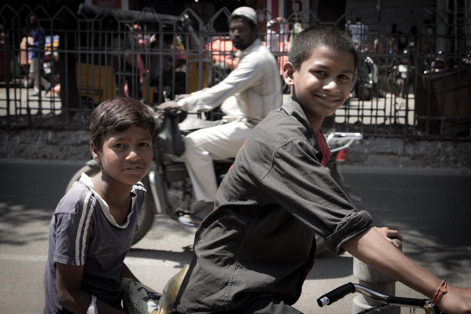 Gelebte Freundlichkeit in Indien