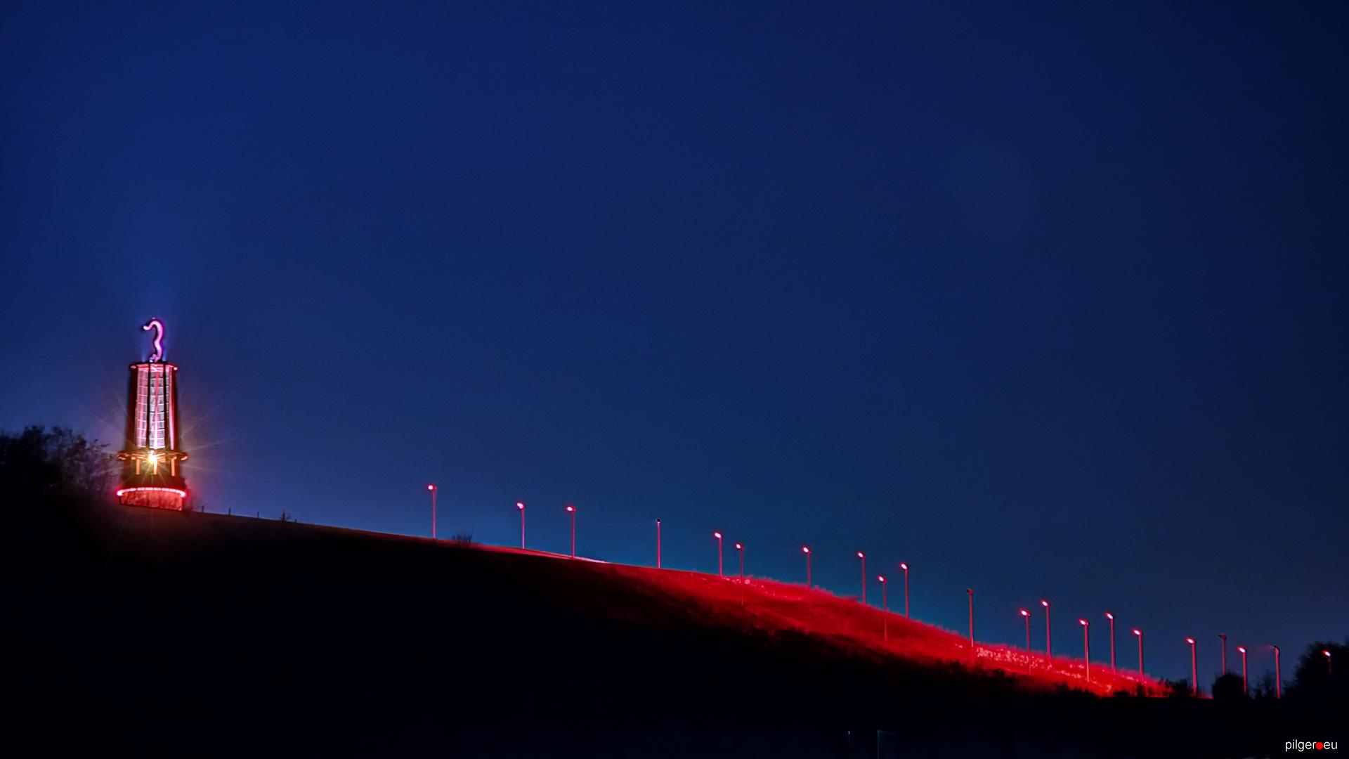 Geleucht mit Lampenfeld