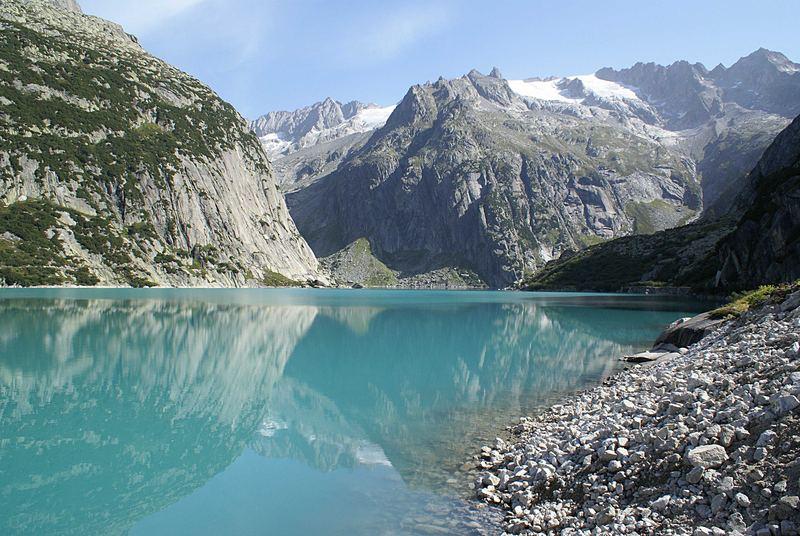 Gelmersee Berner Oberland Schweiz