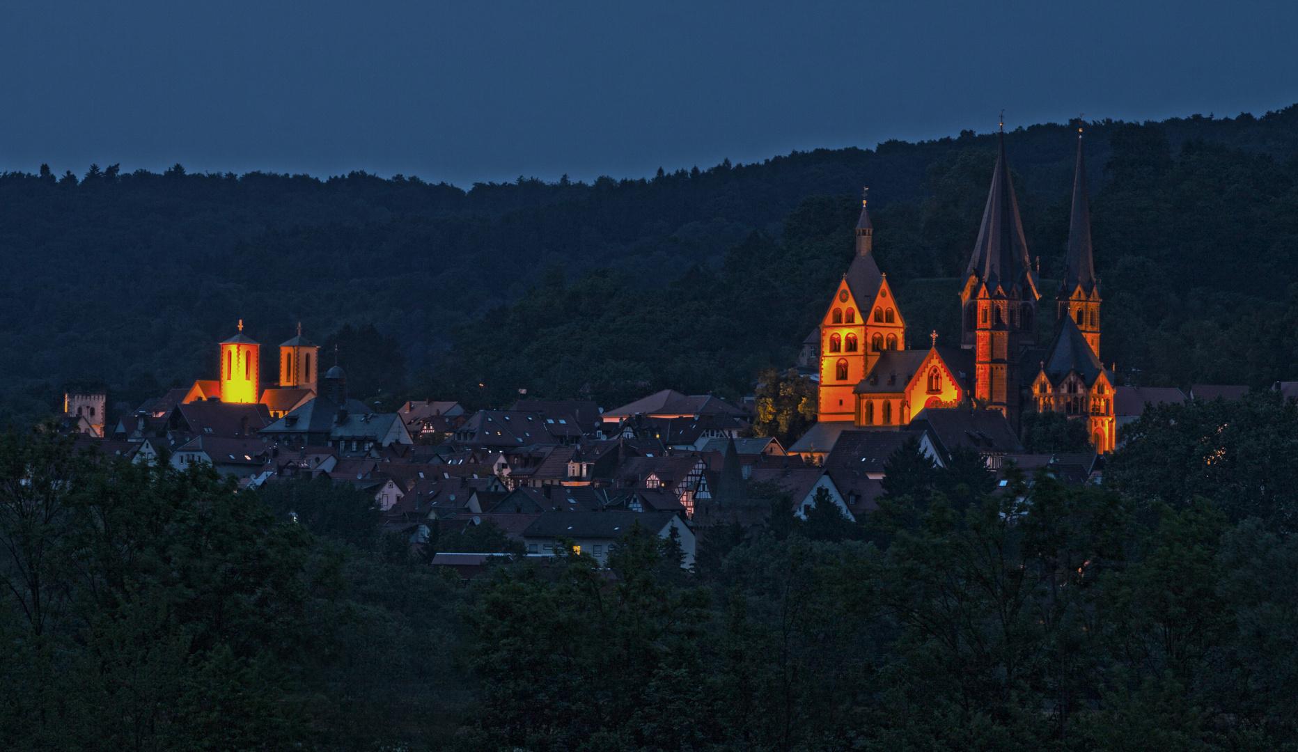 Gelnhausen zur blauen Stunde