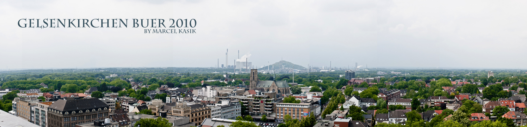Gelsenkirchen Buer Panorama 2010