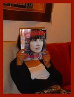 Gelungene Tarnung.. oder: darfst mich Brigitte nennen... oder: die Frau mit den zwei Gesichtern....