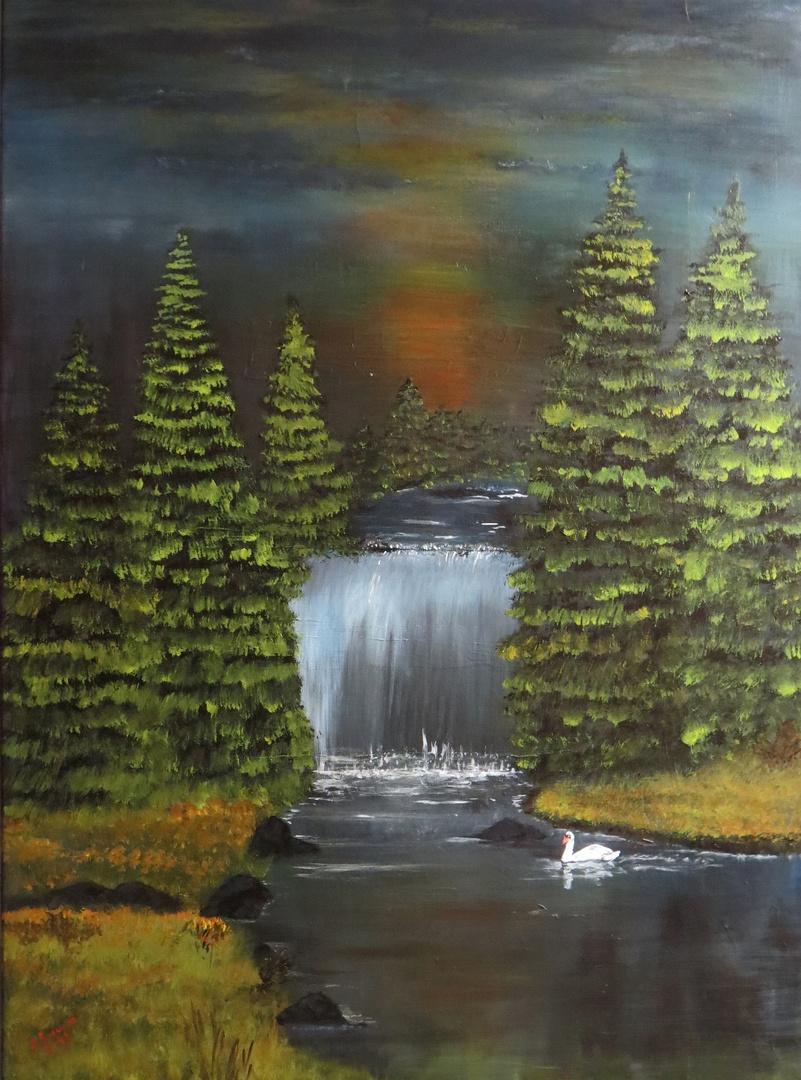 Gemälde in Acryl