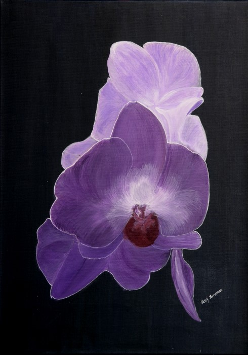"Gemälde ""Lotus"""