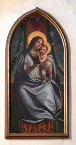 """Gemälde """"Maria mit Kind"""""""