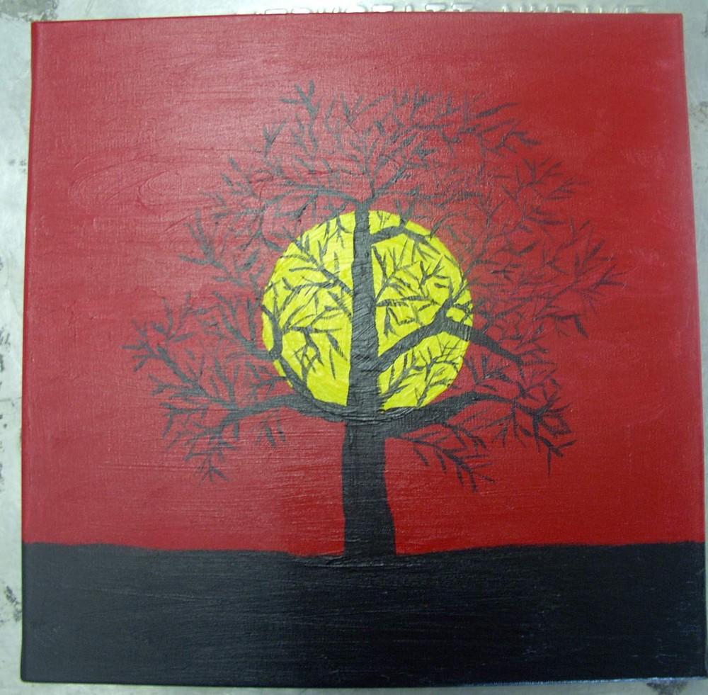 gemalter Baum 3