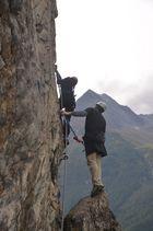 Gemeinsam klettern