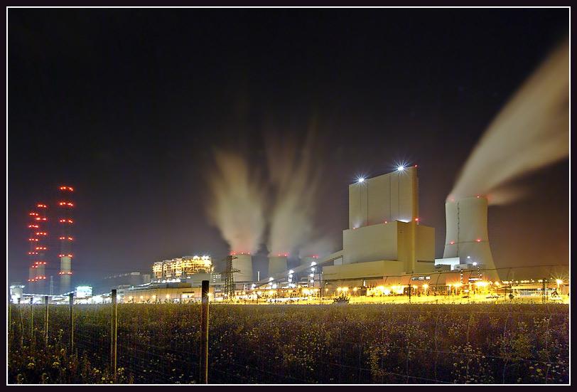 Gemeinschafts- Projekt Braunkohle- Kraftwerke