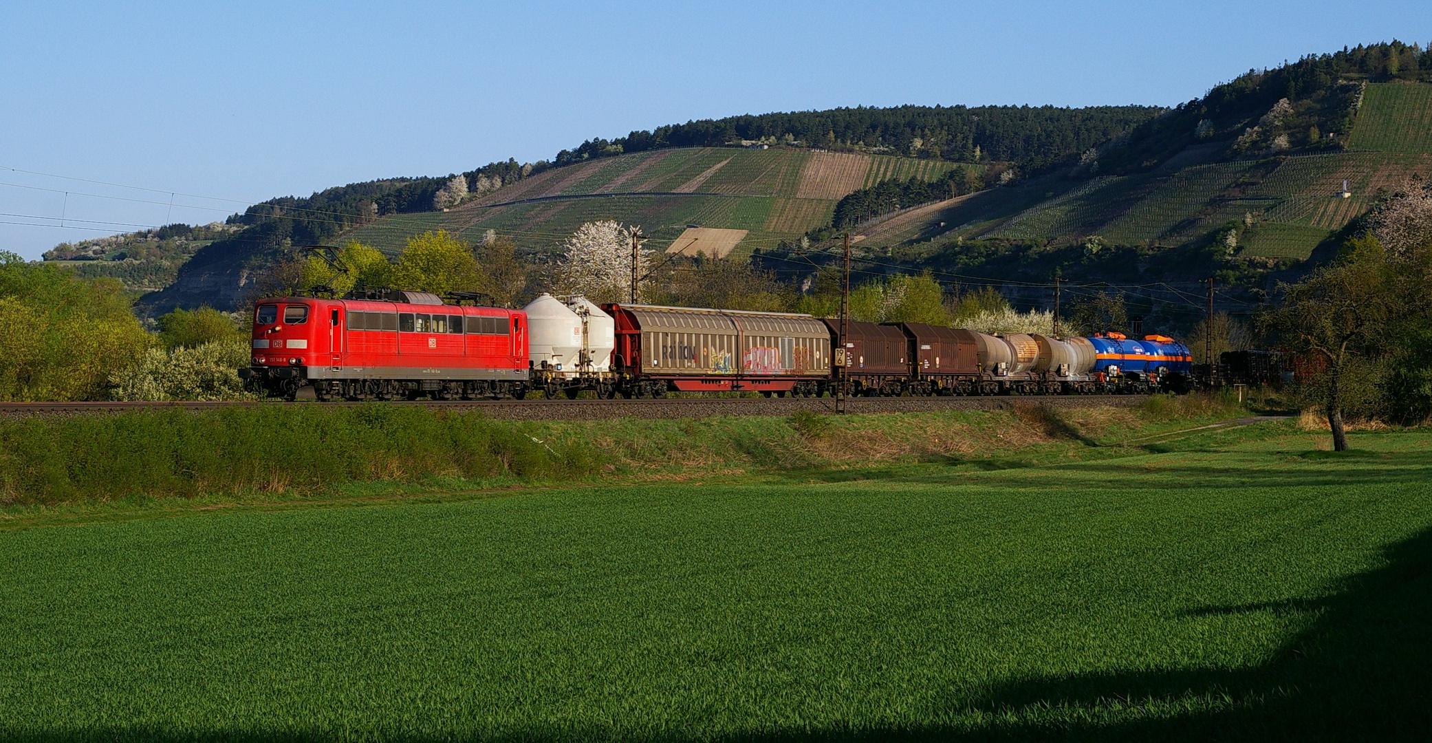 Gemischte Güterzüge ...