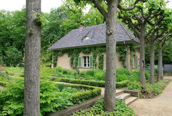 Gemüse- und Blumengarten von Max Liebermann (Villa am Wannsee)