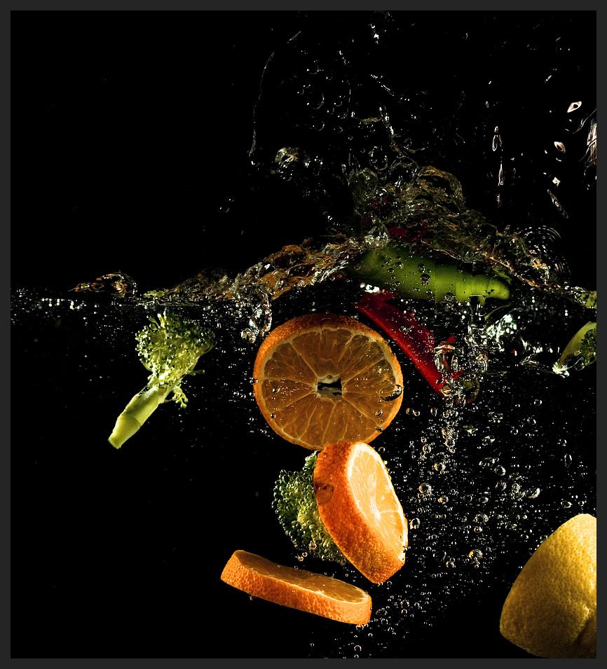 gem252se und obst im badeparadies foto amp bild experimente