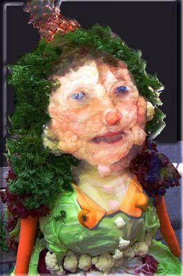 Gemüsefrau