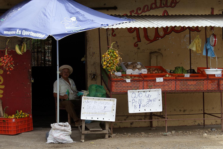 Gemüsestand (Tonosi, Panama)