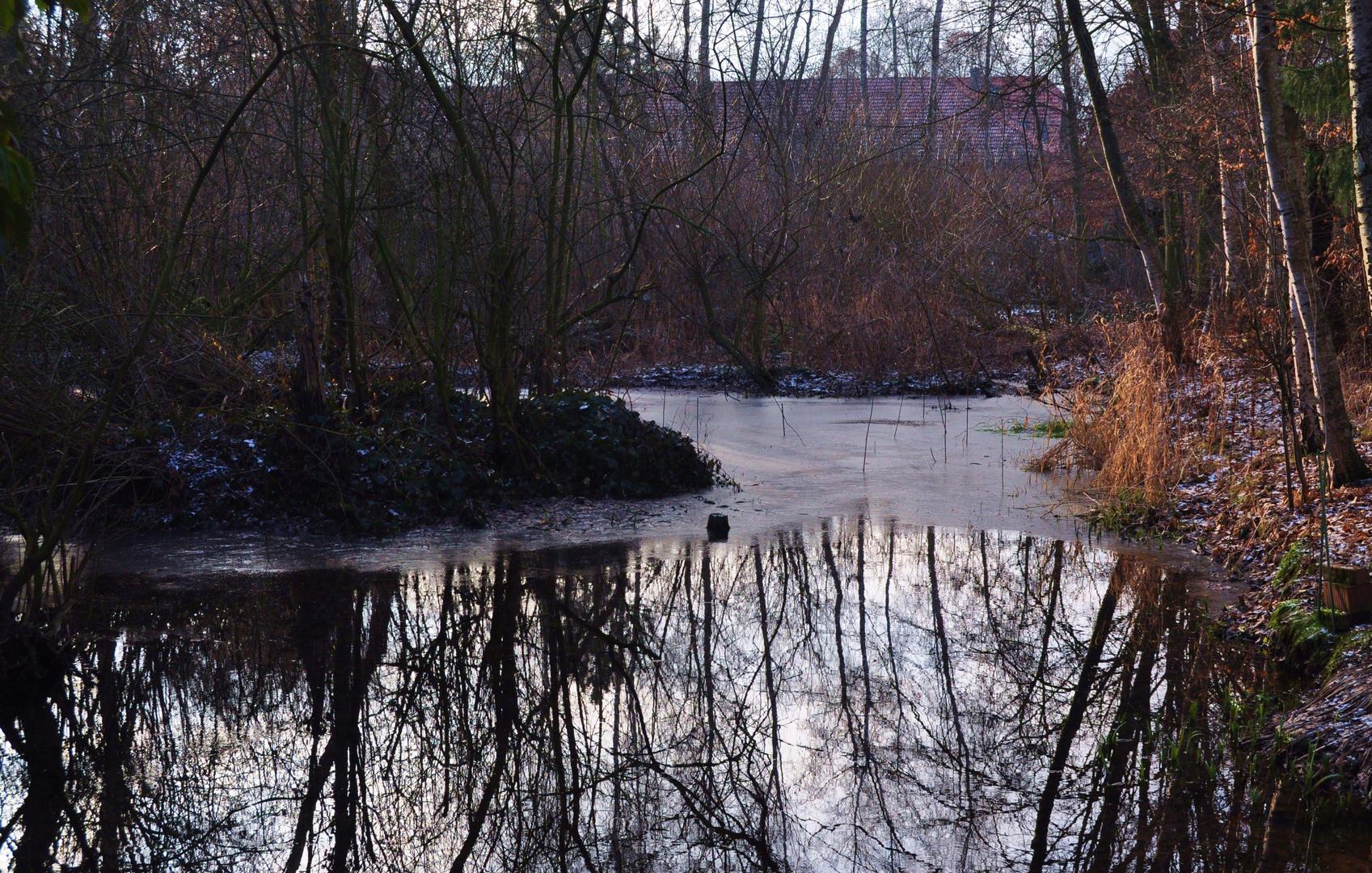 Gemütlich am Teich