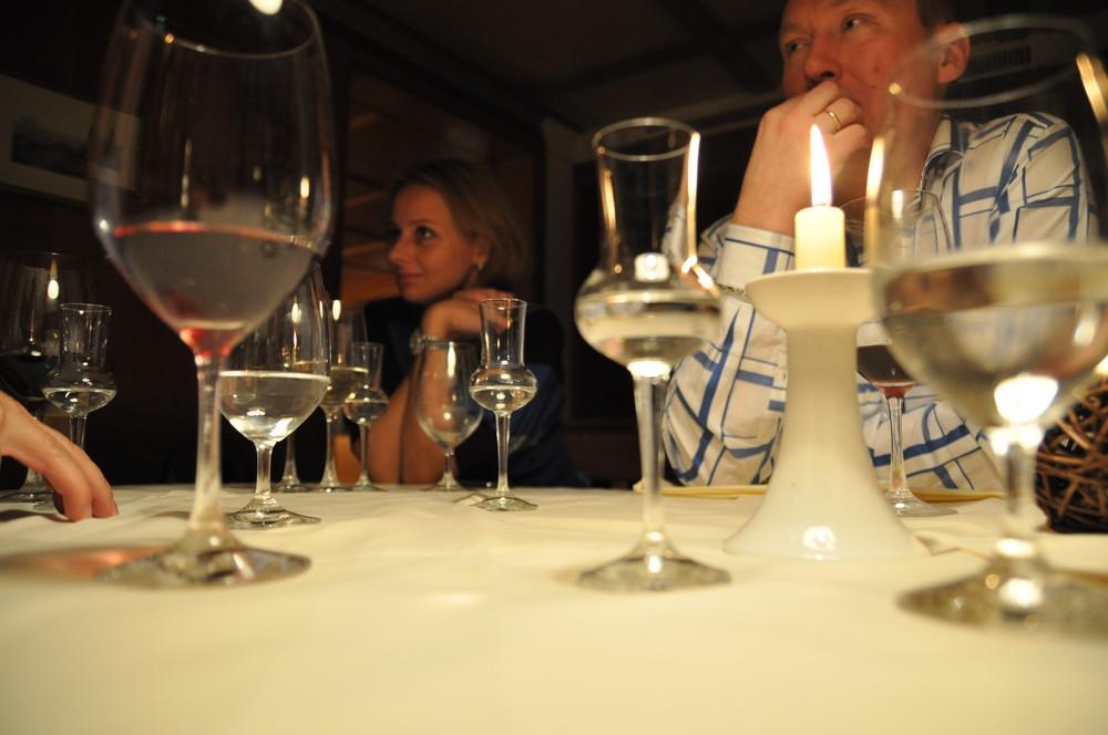 Gemütlicher Abend in Voradelberg