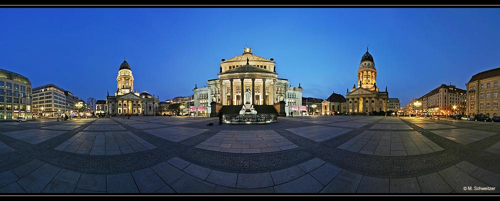 Gendarmenmarkt Berlin Panorama