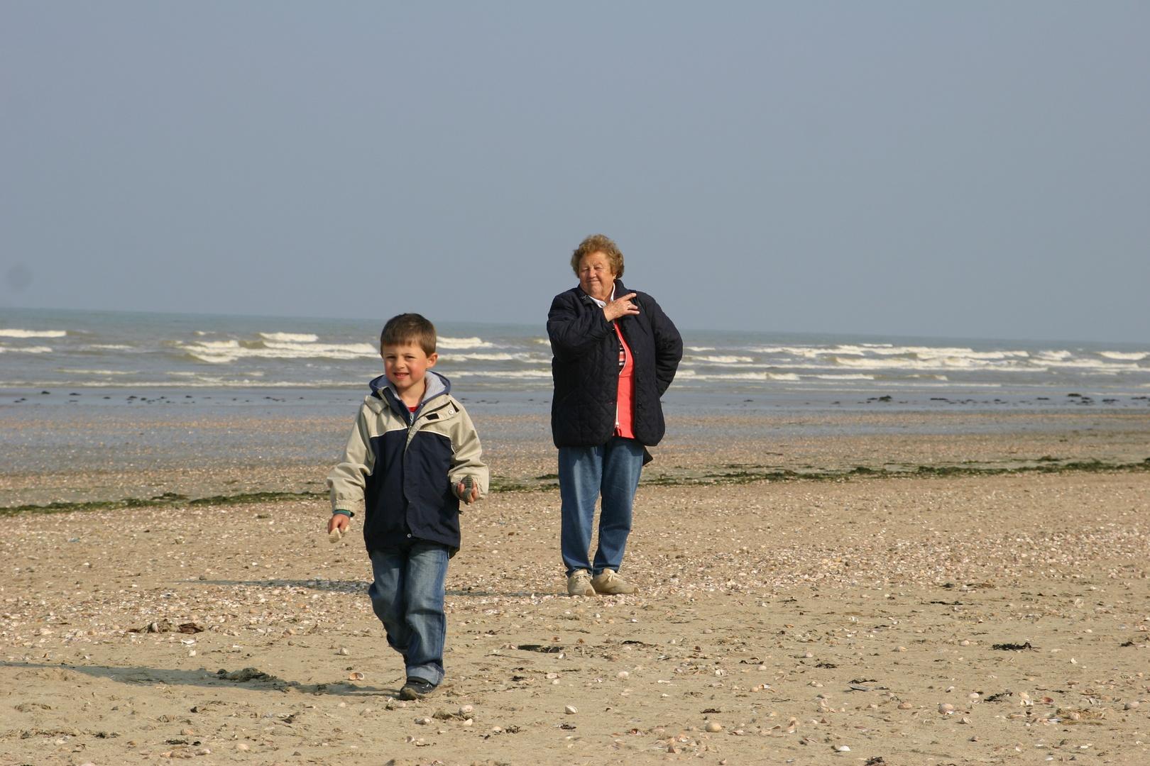 Generationen am Strand