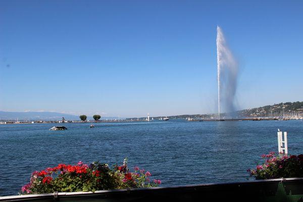 Geneve et son geyser