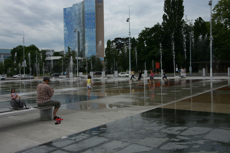 Genf: Place des Nations