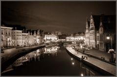 Gent am Abend - Gand le soir